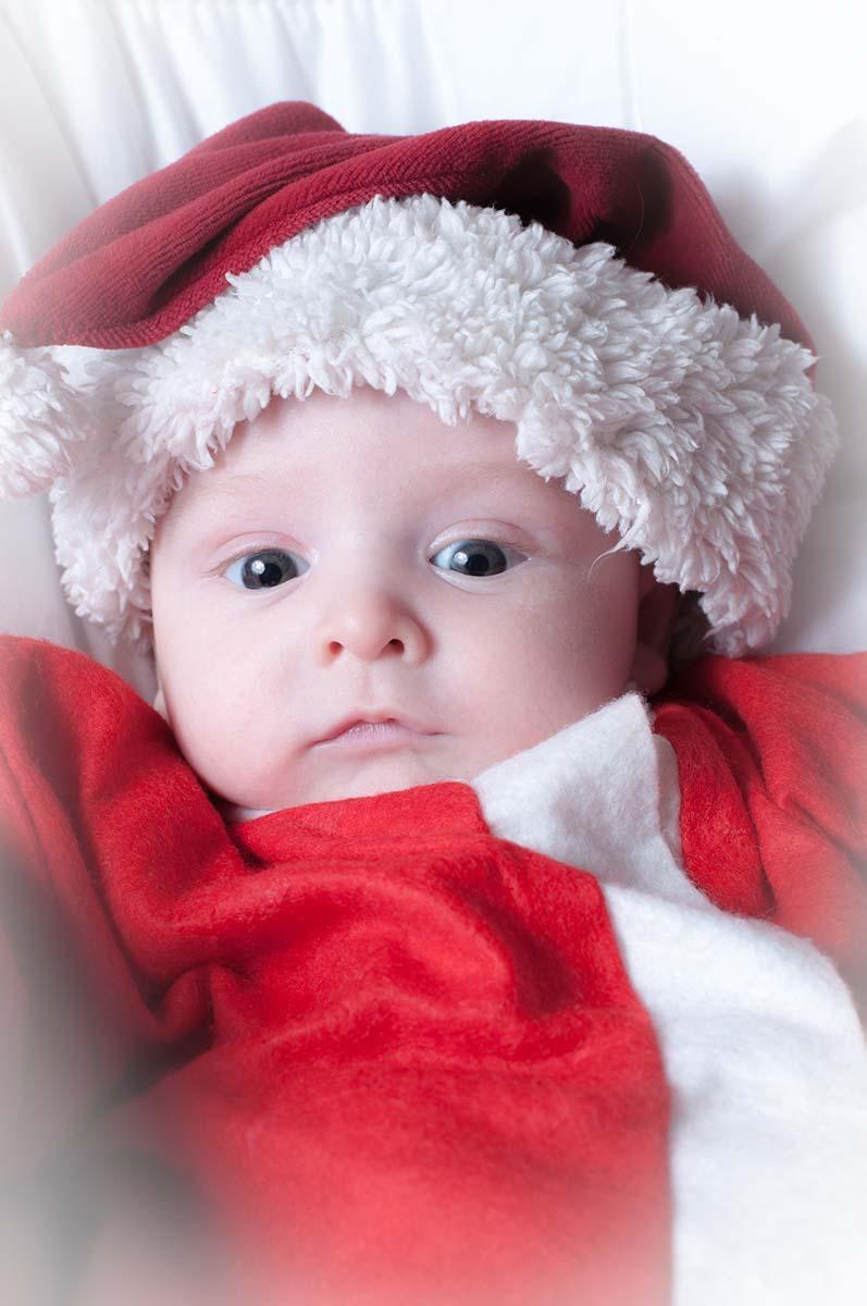 Preparar los christmas de navidad con los niños.