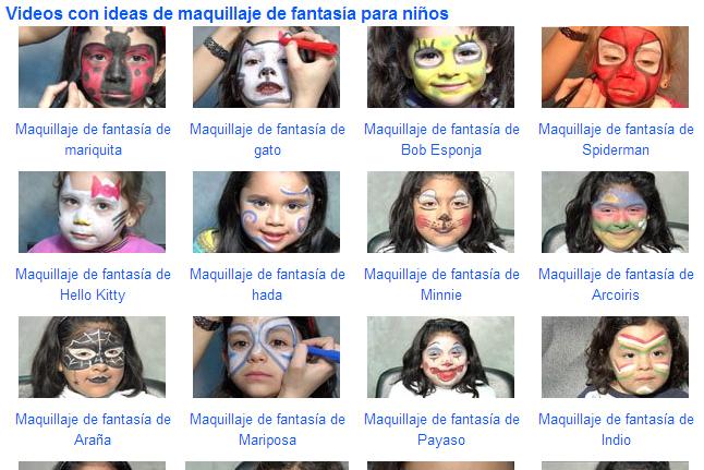Cómo maquillar de fantasía a los niños.