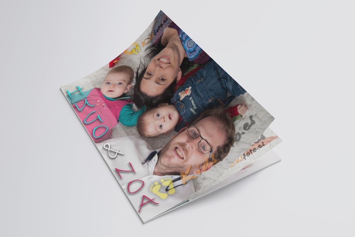 Revista infantil  de sesión en estudio