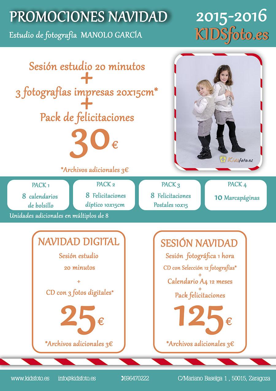 Sesión Fotográfica Navidad Felicitaciones Zaragoza
