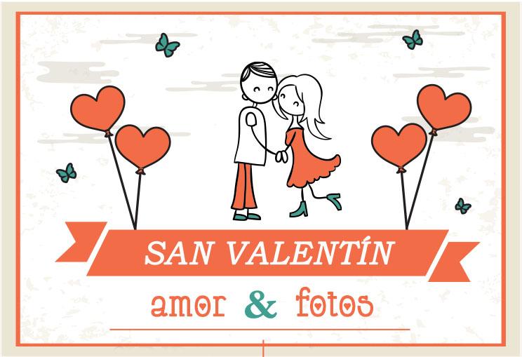 Fotografía San Valentín, sesión fotográfica enamorados
